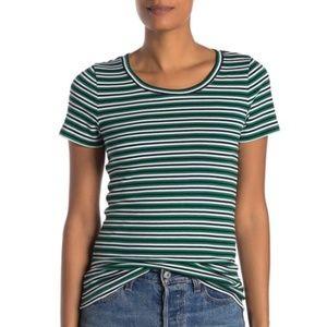 J Crew Striped Perfect Fit T-Shirt